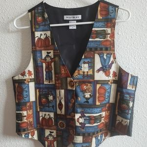 Westbury Halloween  lined vest